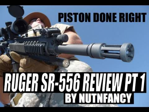 Ruger SR-556 review by Nutnfancy. Pt 1