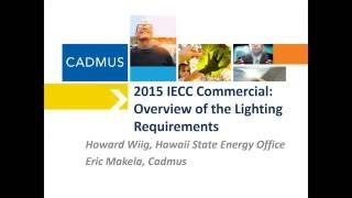 2015 IECC Recorded Webinar: Lighting Requirements