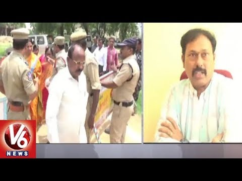 Vemulawada Mandal Parishad Chairman Wins No Confidence Motion | V6 News