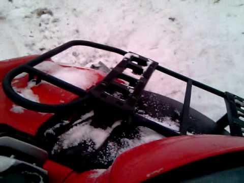 snow plowing in denmark on fyn