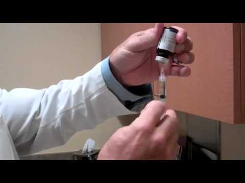 Testosterone Injection Video