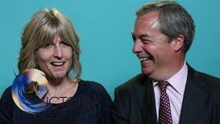 Election blind dates: Nigel Farage and Rachel  Johnson - BBC News