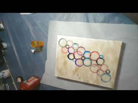 Making Circles with Alcohol Ink - Part 2 - #YT100challenge
