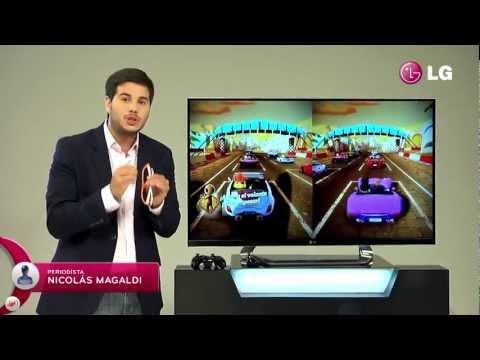 LG Cinema 3D Smart TV. Dual Play.