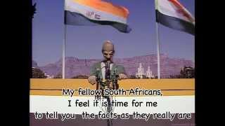 Spitting Image - I've Never Met A Nice South African (With Lyrics) (HD)