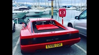 Ferrari Testarossa 2000 mile road trip to the French Riviera