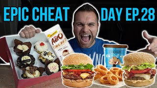 EPIC CHEAT DAY EP.28 | JOHNNY THE FOOD JUNKIE | CHEAT DAY