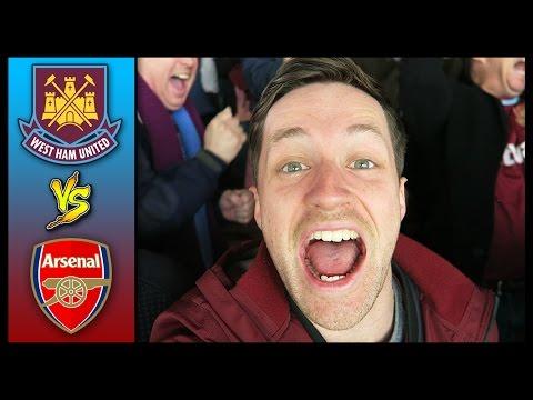 WEST HAM VS ARSENAL - Premier League 15/16