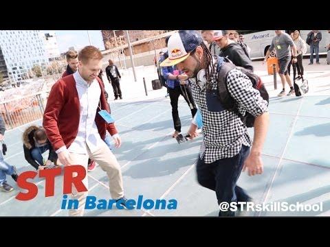 Skills in Barcelona Part 1 - Nike Magista event