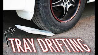 How to DRIFT in an Automatic FWD Car(Tray Drifting)