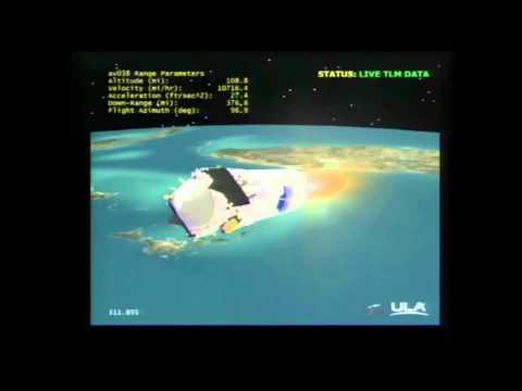 Mars Bound MAVEN Probe Launches