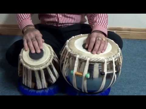 Tabla Lesson # 11  Kehrawa Medium Speed video