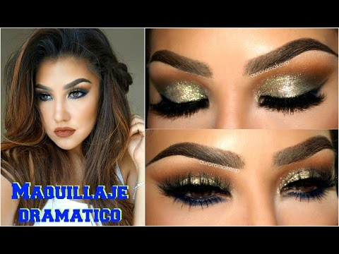 Maquillaje DRAMATICO de VERANO/ Summer Dramatic Makeup tutorial | auroramakeup