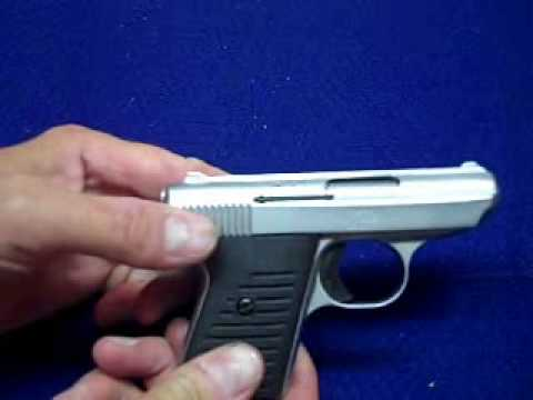 Field Stripping the Jimenez Arms JA-22 or Jennings J-22 Pistol