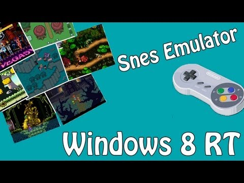 (Tutorial) How To Get SNES Emulator On Surface - SNES8X