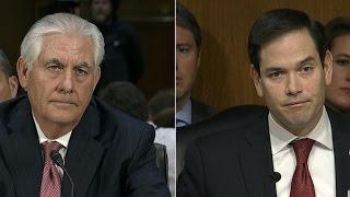 Tillerson, Rubio spar over Putin