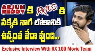 అర్జున్ రెడ్డి మూవీపై..RX100 | Interview With RX 100 Movie Team | #AjayBhupathi