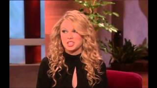 Exclusive Taylor Swift First Interview with Ellen on The Ellen DeGeneres Show 2013