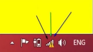 حل مشكلة المثلت الأصفر عند الإتصال بالشبكة وكيف ترفع من إشارة الويفي