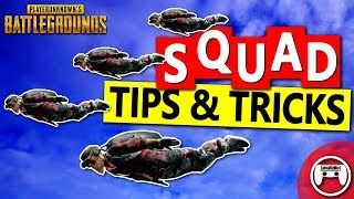 Squad Tips for PUBG PS4 & Xbox - PlayerUnknown's Battlegrounds Console Tips & Tricks