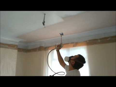 free video spraying on. Black Bedroom Furniture Sets. Home Design Ideas