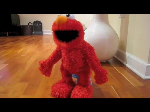 Elmo live unboxing and demo