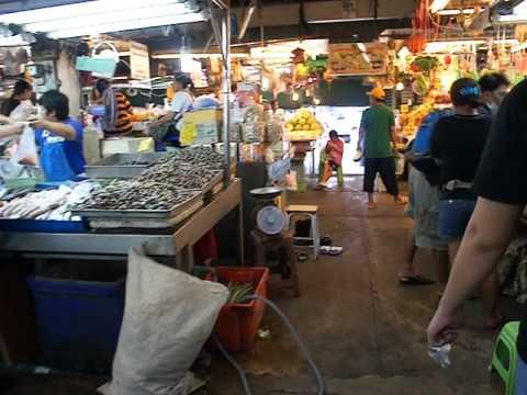 Minburi Market Flooded 2011