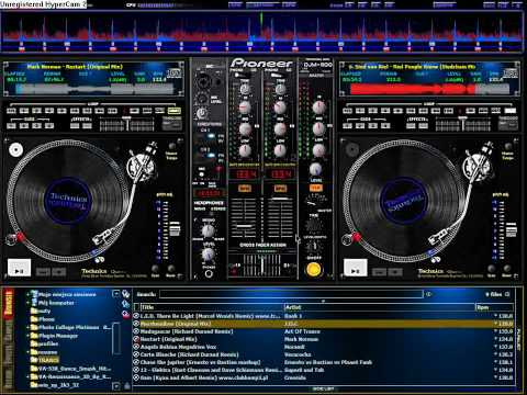 Virtual DJ Trance mix