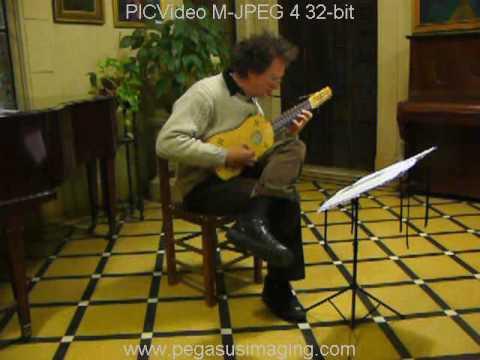 Alonso Mudarra: Tiento y Fantasia 8º tono; Gabriel Schebor (vihuela)