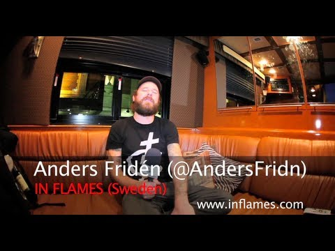IN FLAMES: Anders Fridén On Touring With LAMB OF GOD, Bands Evolution & Musical Future!