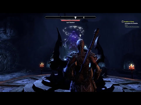 Let's Play The Elder Scrolls Online Part 5 - TENTACLE MONSTER!