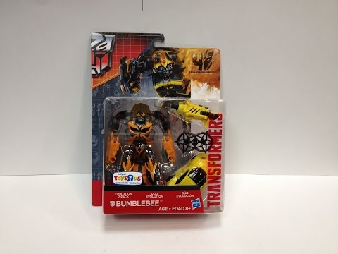 Transformers: Age of Extinction - Evolution of BUMBLEBEE Set
