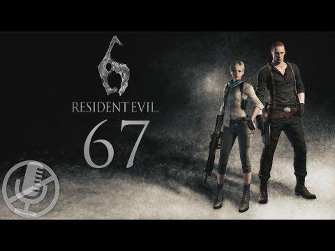 Resident Evil 6 Джейк прохождение на кошмаре #67 — Двор Пойсавана