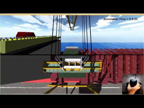 Ship to Shore Crane Simulator with Unity