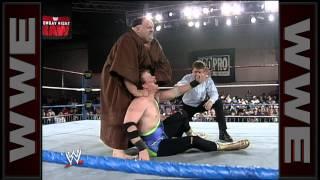 Friar Ferguson makes his WWE debut: Raw, April 12, 1993