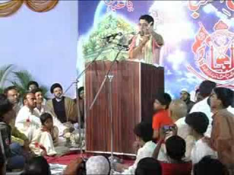 New Manqabat Mir Hassan Mir Apni Qismat Aazma  6of11.flv video