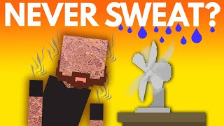 What If You Never Sweat?