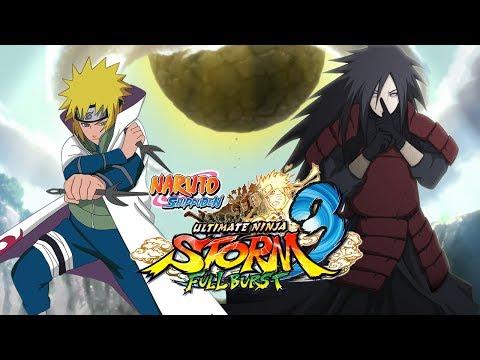 Naruto Shippuden Uns3fb: Minato Vs Madara (live Commentary) video