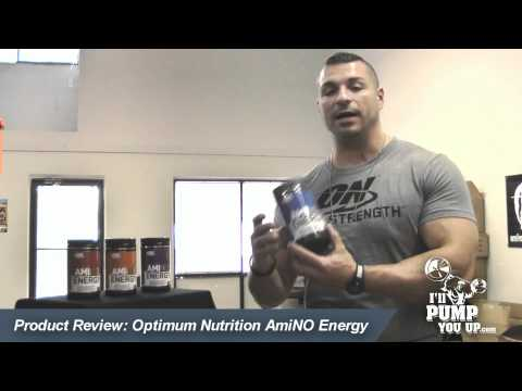 Optimum Nutrition Amino Energy Preworkout Review