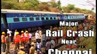Arakkonam - Massive derailment - Express Train derailed near Arakkonam [RED PIX]