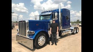 Peterbilt 379 pure power when accelerating drive HD