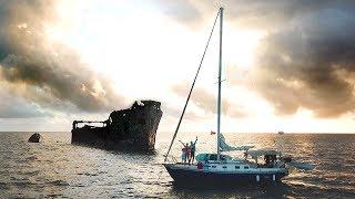 EXPLORING THE SAPONA SHIPWRECK   Sailboat Story 104
