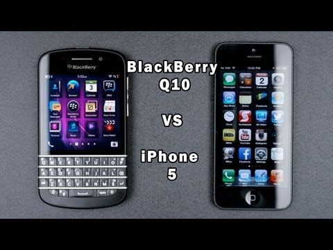 Blackberry Q10 vs IPhone 5 Full In-Depth Comparison