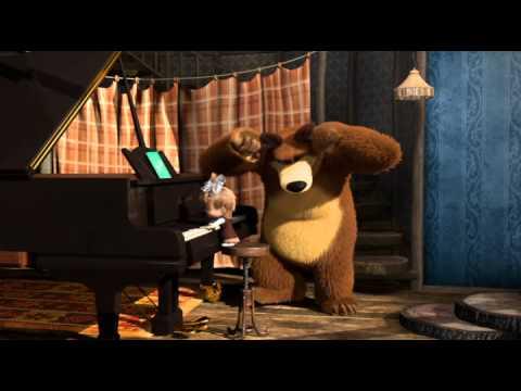 Маша и медведь 19.Репетиция оркестра