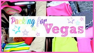 Packing for a Weekend Getaway: Vegas Edition!