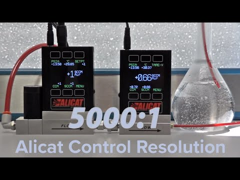 Turndown Ratio in Mass Flow Controllers | Alicat Scientific
