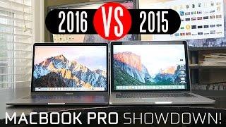 2016 MacBook Pro vs 2015 Macbook Pro