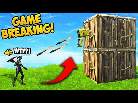 SHOOT RPG'S THROUGH WALLS! - Fortnite Funny Fails and WTF Moments! #353