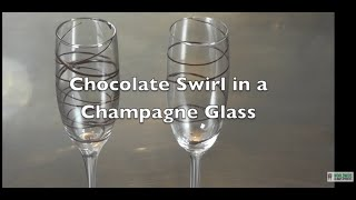 Decorate Your Champagne Flutes - Glass Decoration with Chocolate - Pastry Class