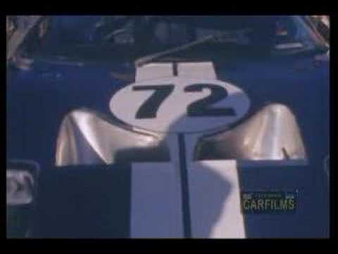 DAYTONA COUPE FORD SHELBY FILM 1965